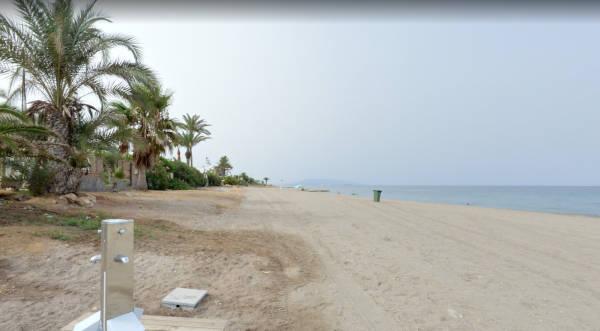 Playa de Vista de los Ángeles